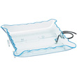 "Cal-Mil Non Illuminated 24"" Square Clear Ice Display Tray, With Drain Kit"