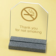 Cal-Mil ACNS-54 Thank You for Not Smoking, Pack of 24