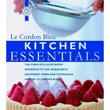 john wiley KITCHEN ESSENTIALS by Le Cordon Bleu. Hardcover, 256 FullColor Pages