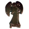 Polycarbonate Chocolate Mold: Angel 107mm x 63mm x 6mm High. 2 Cavities