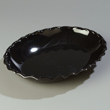 "Carlisle Black Tulip Deli Platter 15-5/8"" x 11-15/16"", Sold as pk. of 6"