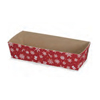 Welcome Home Brands Snowflake Red Mini Loaf Paper Baking Pan