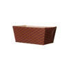 Welcome Home Brands Lattice Brown Loaf Paper Baking Pan