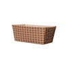 Welcome Home Brands Check Dispoable Paper Loaf Baking Pan