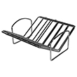 "Fox Run Expandable ""V"" Shaped Roasting Rack"