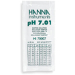 Hanna Instruments HI70007P 7.01 pH Buffer Solution, 25 Sachets, Each 20ml