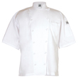 Chef Revival Cuisinier Jacket Short-Sleeve Luxury Cotton