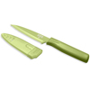 Kuhn Rikon Nonstick Serrated Paring Knife- Green