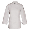 Chef Revival Ladies Knife & Steel Jacket, Traditional Poly-Cotton, Chef Logo Button