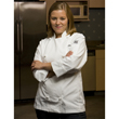 Chef Revival Ladies Knife & Steel Jacket, Traditional Poly-Cotton, Cloth Knot Button