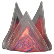 Gourmet LJ035 Display Candle Holder, Glass 5""