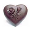 Polycarbonate Chocolate Mold Heart 101x105mm, 4 Cavities