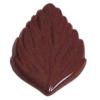 Polycarbonate Chocolate Mold Leaf 62x39mm x 4mm High, 15 Cavities