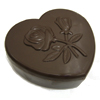 Polycarbonate Chocolate Mold Box Heart Shaped