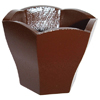 Polycarbonate Chocolate Mold Hexagonal Bowl 52x45.5mm x 38.7mm High, 12 Cavities