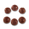 Polycarbonate Chocolate Mold Masks 25mm Diameter, 42 Cavities