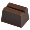 Martellato Polycarbonate Chocolate Mold Sloping Rectangle 26x19mm x 16mm High, 28 Cavities