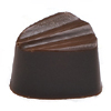 Martellato Polycarbonate Chocolate Mold Creased Bullet 26.5x22.5mm x 16.5mm High, 28 Cavities