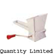 Moulinex Food Mincer. White Plastic with metal roller blades