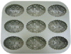 Nordicware Cast Aluminum Egg Muffin Pan, Commercial Non Stick