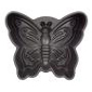 Nordicware Commercial Butterfly Cake Pan Heavy Duty Cast Aluminum. Teflon Non-stick Coating. 10 cup capacity