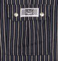 Chef Revival Blue-Gray Soho Stripe Cargo Pants 100% Cotton