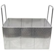 "Adcraft Stainless Steel Perforated Sterilizing Basket, 15"" x 10"" x 8"""