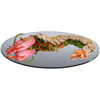 Gourmet Display Oval Acrylic Mirror Tray