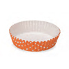 Welcome Home Brands Polka Dot Orange Ruffled Paper Baking Pan