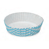 Welcome Home Brands Stripe Blue Ruffled Paper Baking Pan