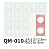 Silicone Chocolate Sheet, Rectangle 67x28mm, 10 Cavities