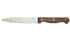 "Paring Knife, Wooden Handle, 5"" Blade, Full Tang"