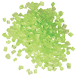Sugar Crystal Nuggets, Green, 250g. per Jar
