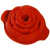 "Silicone Bakeware: Rose 10 Oz, 4.96"" Dia x 1.97"" High"