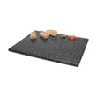 Gourmet Display SS451: GASTRO Rectangle Serving Stone Tray (Acrylic), Half Size