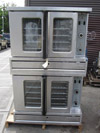 SunFire Double Deck Gas Convection Oven Model # SDG-2 Used Very Good