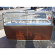 "Custom Cool 79"" Salad Bar with Sneeze Guard [Custom Made] - Used excellent working condition"