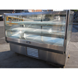 "Leader HBK77 High Bakery Refrigerated Display Case 77"" S/C Used Excellent Condition"