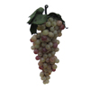 "Artificial Cluster of Small Grapes, 7"" Long, Green and Red"