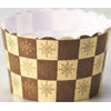Welcome Home Brands Brown Emblem Disposable Paper Baking Cup