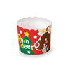 Welcome Home Brands Reindeer Christmas Dispoable Paper Baking Cup