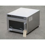 Amana HDC212 Heavy Duty Stainless Steel Commercial Microwave, Excellent Condition