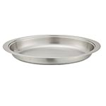 Chafer Food Pan, 8 quart oval pan for chafer stainless steel