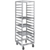 Channel 403A-OR Front Load Aluminum Bun Pan Oven Rack - 12 Pan