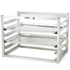 Channel AWM5 5 Pan Side Load Wall Mount Sheet / Bun Pan Rack - Assembled