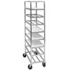 Channel AXDUPR8 Heavy-Duty Universal Aluminum Platter Rack - 8 Shelf