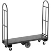 "Channel U1648DS 16"" x 48"" Steel U-Boat Stocking Truck with Treaded Deck - 2500 lb. Capacity"