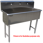 Custom Made Commercial Hand Sink Stainless Steel 6 Feet Wide