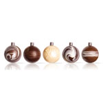 Dobla Chocolate Ornaments, Set of 5