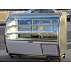 "Leader NRHD72SC 72"" Curved Glass Refrigerated Deli Case, Great Condition"